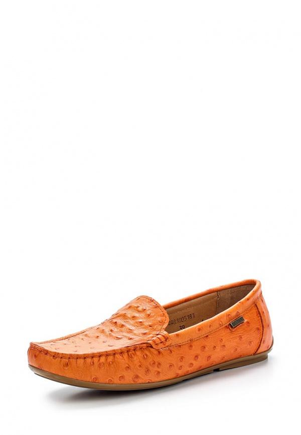Мокасины Giotto 7498-300-5181 оранжевые