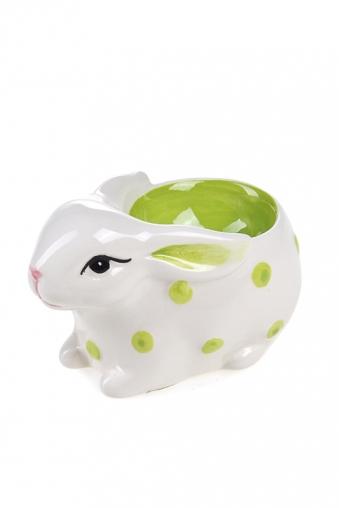 """Подставки для яиц Красный куб Подставка для яйца """"Веселый зайчик"""""""
