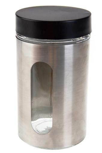 """Емкости для сыпучих и для жидкостей Красный куб Емкость для сыпучих продуктов """"Хром"""""""
