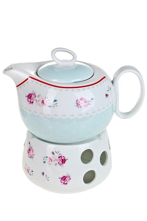 """Чайные наборы Красный куб Чайник завар. """"Прованс"""""""