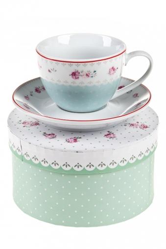 """Чайные пары Красный куб Чайная пара """"Прованс"""""""