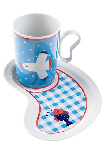 """Чайные пары Красный куб Чайная пара """"Море"""""""