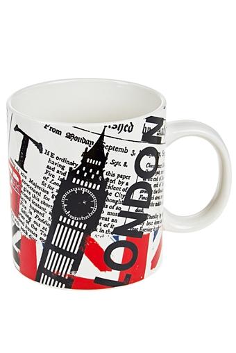 """Кружки и бокалы Красный куб Кружка """"Лондон"""""""