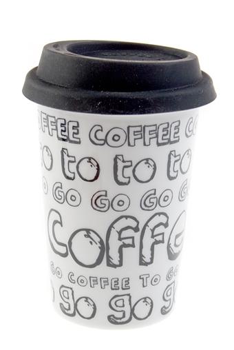 """Термокружки и стаканы для чая/кофе Красный куб Стакан для чая/кофе """"Кофе с собой"""""""