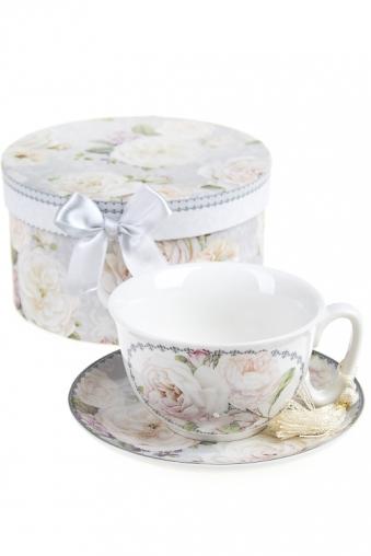 """Чайные пары Красный куб Чайная пара """"Английские розы"""""""