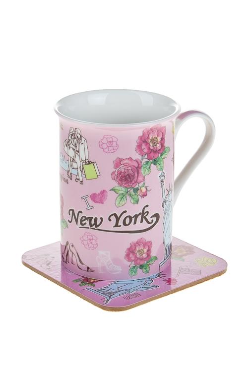 """Чайные пары Красный куб Набор чайный """"Нью-Йорк"""""""