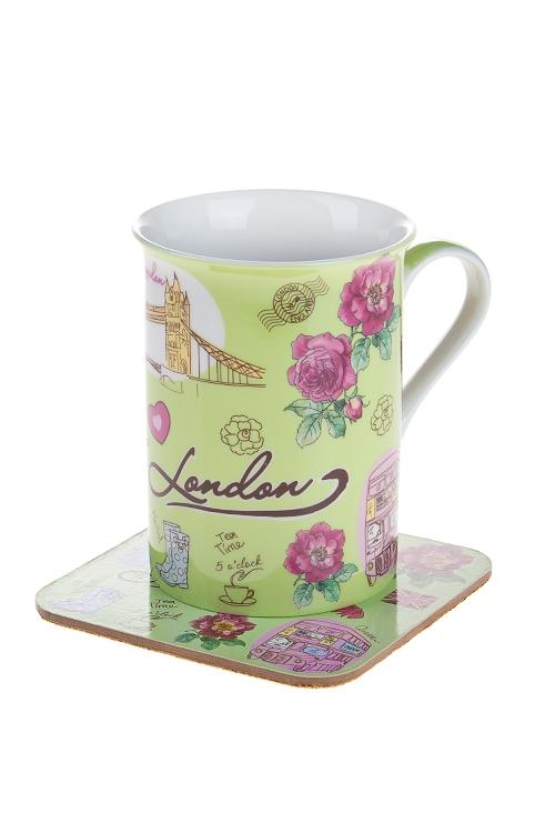 """Чайные пары Красный куб Набор чайный """"Лондон"""""""