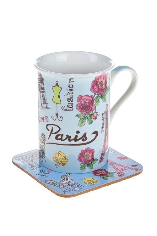 """Чайные пары Красный куб Набор чайный """"Париж"""""""