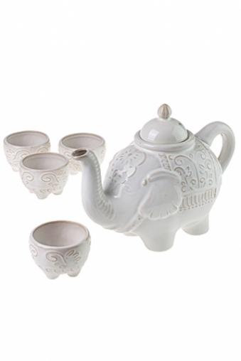 """Чайные наборы Красный куб Набор чайных пар """"Слон"""""""