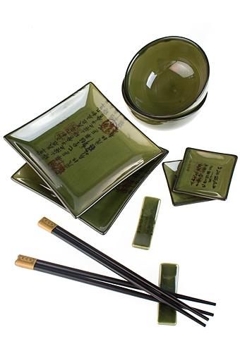 """Наборы для суши Красный куб Набор для суши """"Зелень"""""""