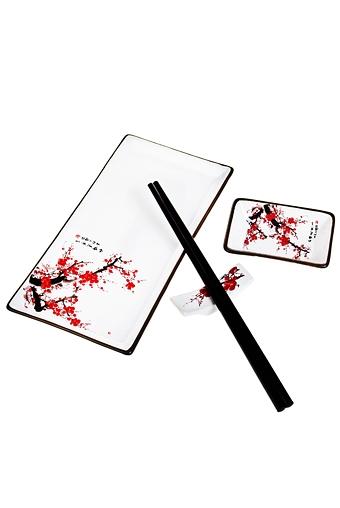 """Наборы для суши Красный куб Набор для суши """"Цветение сакуры"""""""