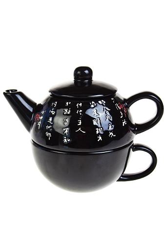 """Чайные наборы Красный куб Набор чайный """"Инь и янь"""""""