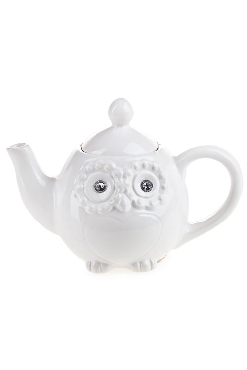 """Чайные наборы Красный куб Чайник заварочный """"Белая сова"""""""