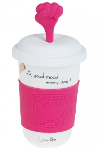 """Термокружки и стаканы для чая/кофе Красный куб Стакан для чая/кофе """"ОК"""""""