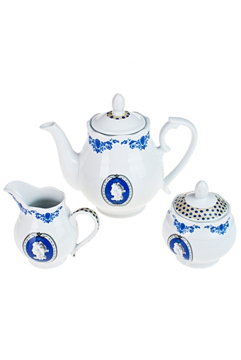 """Чайные наборы Красный куб Набор чайный """"Изысканный орнамент"""""""