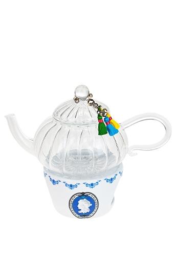 """Чайные наборы Красный куб Чайник заварочный """"Изысканный медальон"""""""
