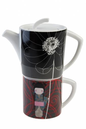 """Чайные наборы Красный куб Набор чайный """"Кимоно"""""""