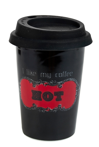 """Термокружки и стаканы для чая/кофе Красный куб Стакан для чая/кофе """"Хот"""""""