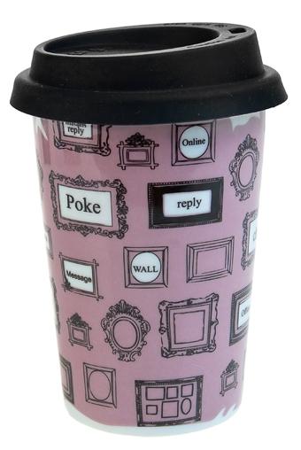 """Термокружки и стаканы для чая/кофе Красный куб Стакан для чая/кофе """"Окно в интернет"""""""