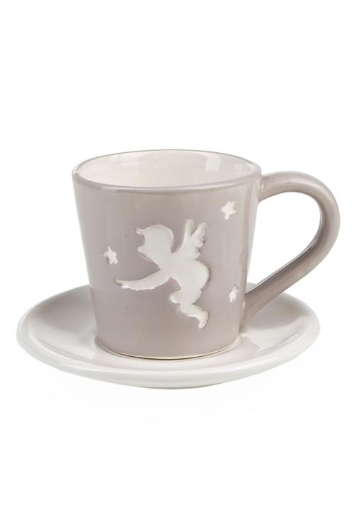 "Чайные пары Красный куб Чайная пара ""Ангел"""