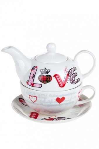 """Чайные наборы Красный куб Набор чайный """"Любовь"""""""