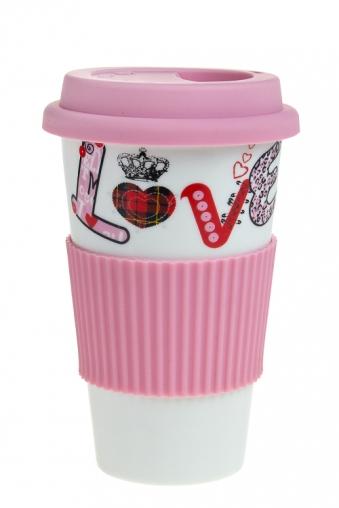 """Термокружки и стаканы для чая/кофе Красный куб Стакан для чая/кофе """"Любовь"""""""
