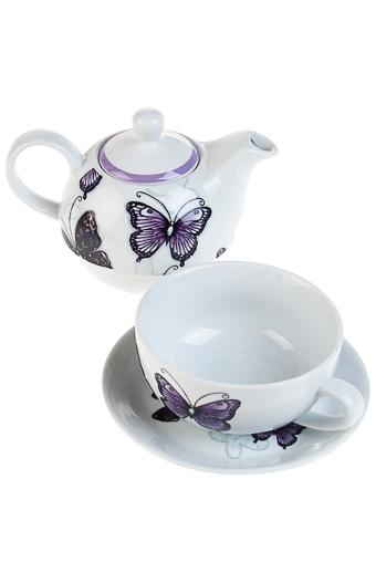 """Чайные наборы Красный куб Набор чайный """"Бабочка"""""""
