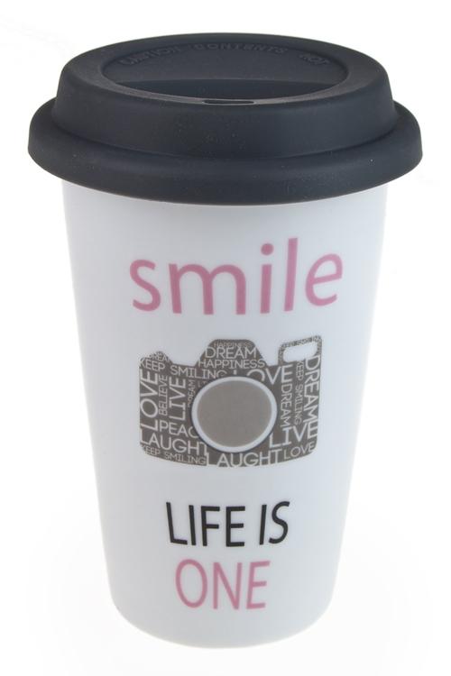 """Термокружки и стаканы для чая/кофе Красный куб Стакан для чая/кофе """"Фото"""""""