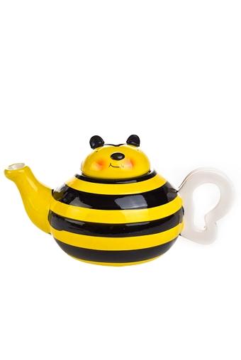 """Чайные наборы Красный куб Чайник завар. """"Пчелка"""""""