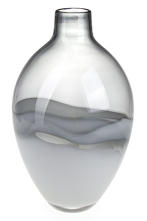"""Стеклянные вазы и кашпо Красный куб Ваза для цветов """"Переливы цвета"""""""