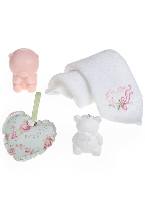 """Наборы для ванной Красный куб Набор подарочный """"Милые мишки"""""""