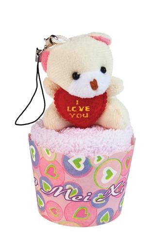 """Наборы для ванной Красный куб Набор подарочный """"Влюбленный мишка"""""""
