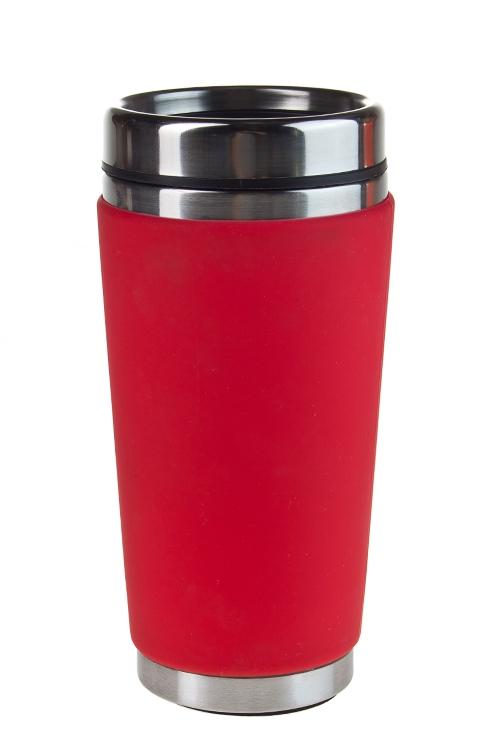 """Термокружки и стаканы для чая/кофе Красный куб Термокружка с крышкой """"Ориджин"""""""
