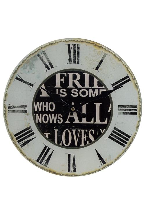 "Часы Настенные Красный куб Часы настенные ""Римские цифры"""