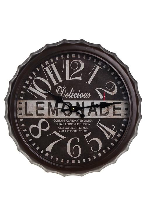 "Часы Настенные Красный куб Часы настенные ""Ретро-лимонад"""