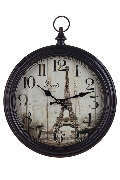 "Часы Настенные Красный куб Часы настенные ""Сумеречный Париж"""