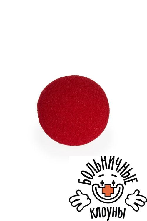 """Маски Красный куб Аксессуар маскарадный для взрослых """"Клоунский нос"""""""