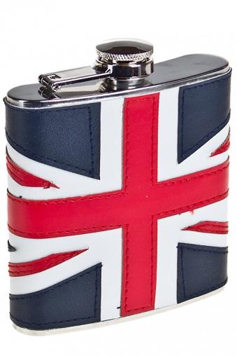 """Термокружки и стаканы для чая/кофе Красный куб Фляжка для напитков """"Британский флаг"""""""