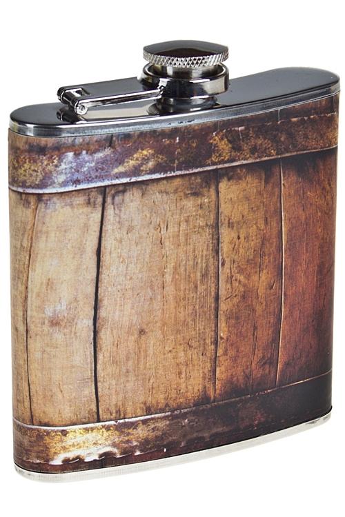 """Термокружки и стаканы для чая/кофе Красный куб Фляжка для напитков """"Бочка"""""""
