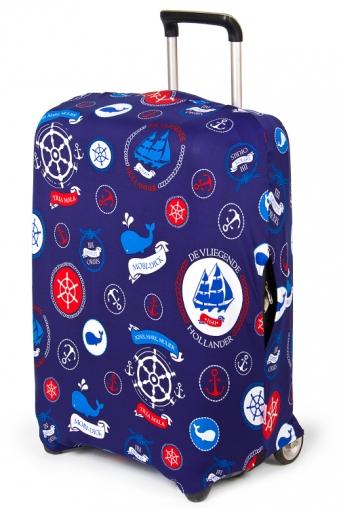 """Подголовники и аксессуары для путешествий Красный куб Чехол для чемодана """"На море!"""""""
