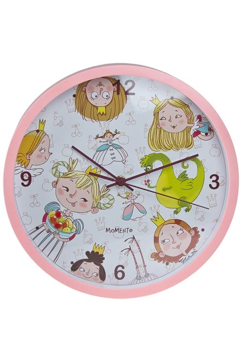 "Часы Настенные Красный куб Часы настенные ""Принцессы"""