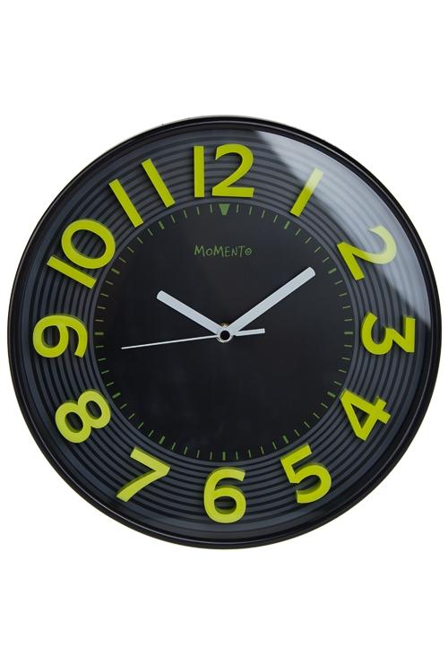 "Часы Настенные Красный куб Часы настенные ""Объемные цифры"""