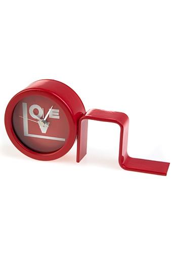 "Часы Настольные Красный куб Часы настольные ""Любовь"""