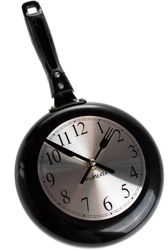 "Часы Настенные Красный куб Часы настенные ""Сковорода"""