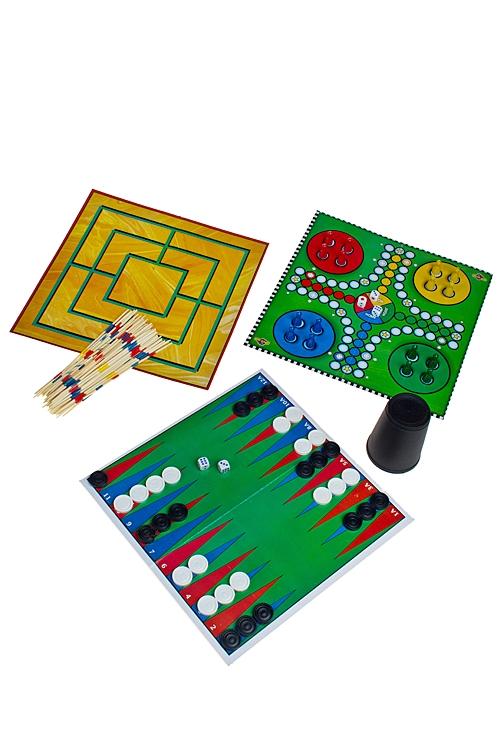 Настольные игры для детей и взрослых Красный куб Набор игр настольных развлек. для взрослых