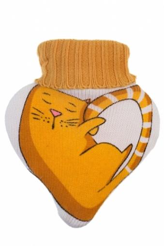 """Грелки Красный куб Грелка декоративная """"Рыжий котенок"""""""