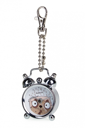 """Брелок Часы Красный куб Часы-мини """"Сколько времени"""""""