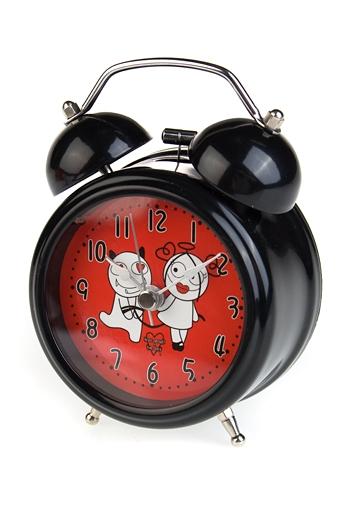 """Часы Настольные Красный куб Часы настольные """"Связанный дьяволенок"""""""