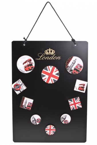 """Мемо-листики и доски Красный куб Доска-мемо """"Лондон"""""""