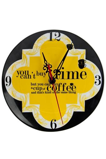 """Часы Настенные Красный куб Часы настенные/настольные """"Кофе тайм"""""""